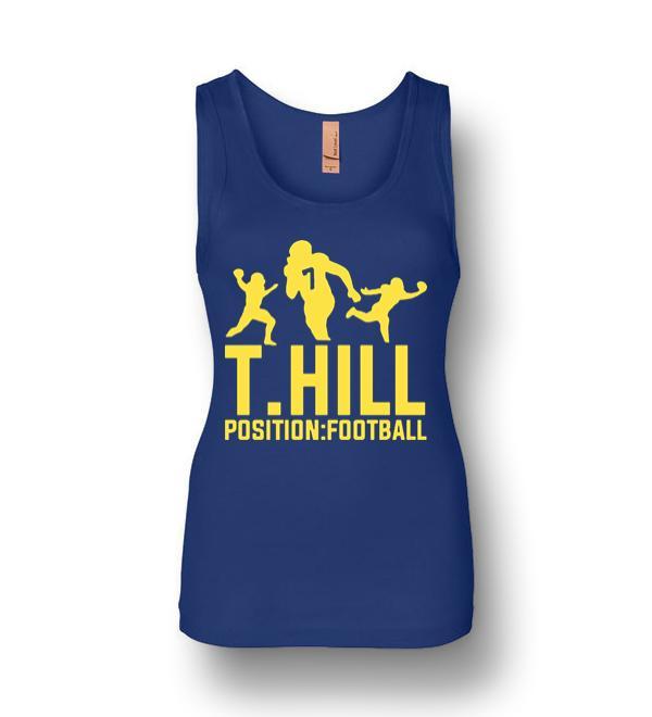 Taysom Hill Position Football Womens Jersey Tank ...Taysom Hill Body